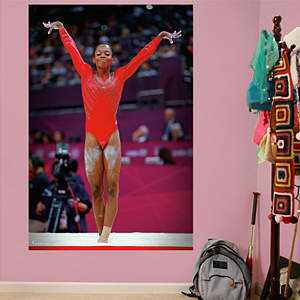 Gabby Douglas Finish Mural Fathead Wall Decal